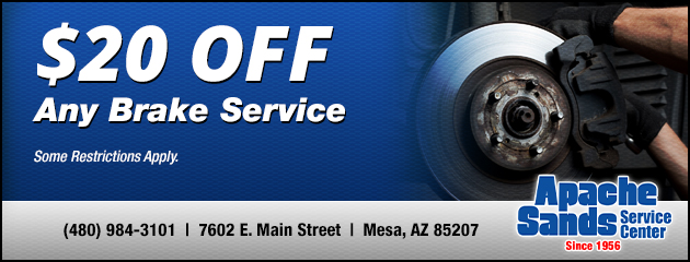 Auto Repairs & Tires at Apache Sands Service Center | Mesa, AZ