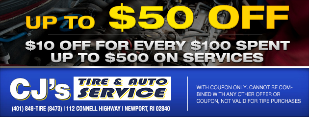 Save Up to $50 on Service