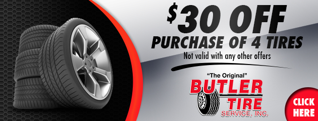 $30 Off Tire Purchase