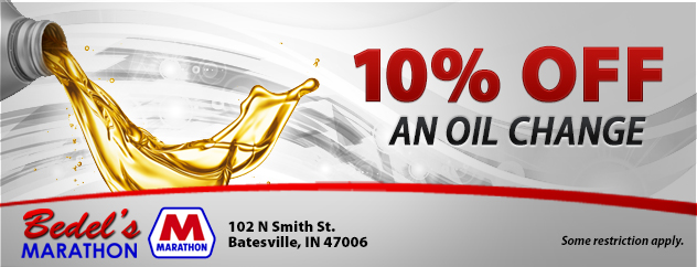 10% Off an Oil Change