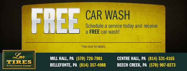 LMR Tire Free Car Wash