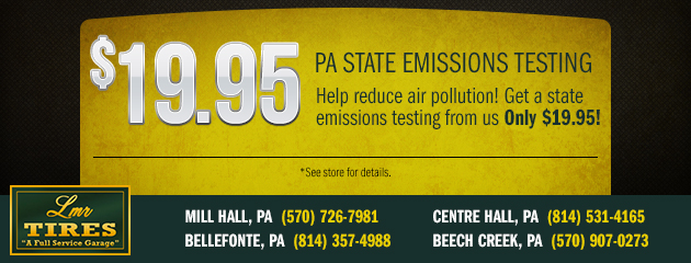 LMR Tires Emissions Savings