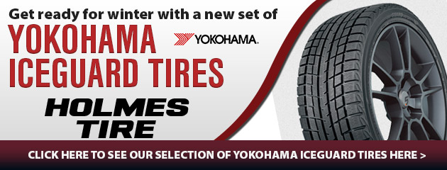 Get ready for winter with a new set of Yokohama iceGUARD tires!