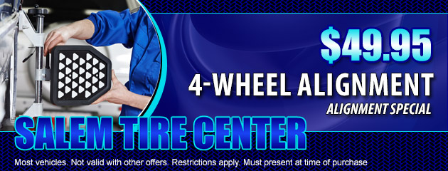 Alignment Special - $49.95 4-wheel alignment