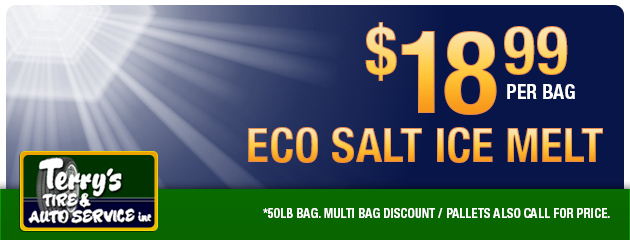 Eco Salt Ice Melt $18.99 per bag