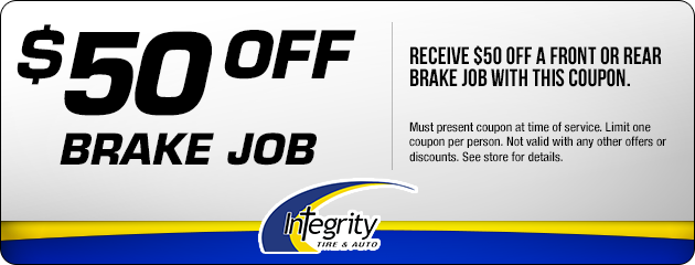 $50 off Front and Rear Brake job
