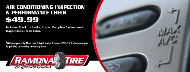 Air Conditioning Inspection & Performance Check - $49.99