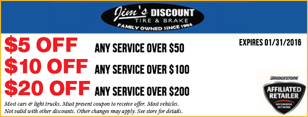 Check Out Our Service Deals!