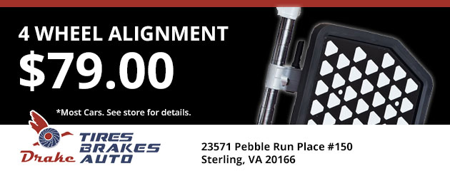 $79.00 - 4 Wheel Alignment Special