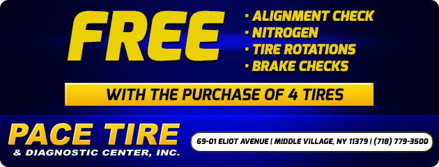 Free Services with Purchase of 4 Tires