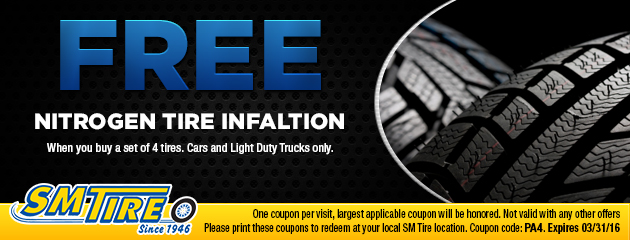 FREE Nitrogen Tire Inflation
