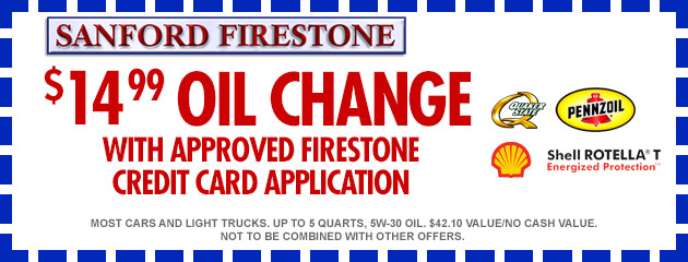 $14.99 Oil Change Coupon