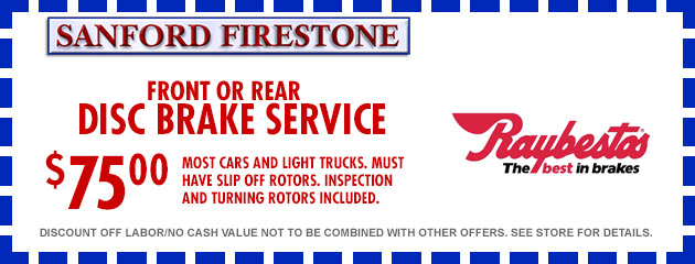 Tires Coupons Sanford Firestone