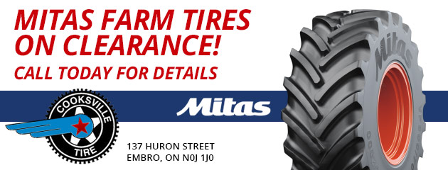 Mitas Farm Tires on Clearance!