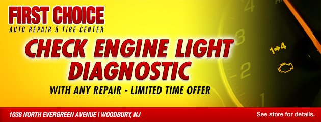 Check Engine Light Diagnostic with any repair