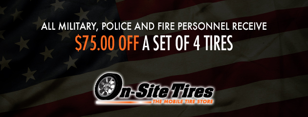 $75.00 Off A Set of 4 Tires