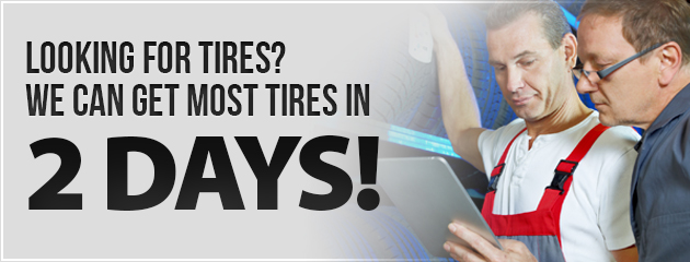 Looking for Tires?
