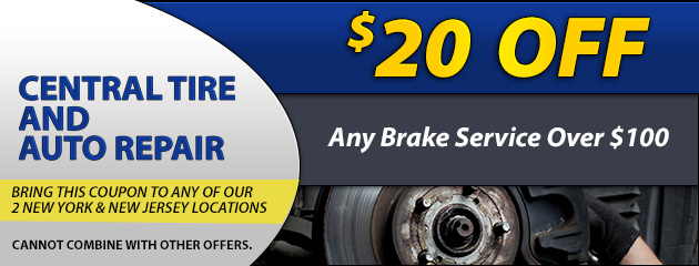 $20 Off Any Brake Service Over $100