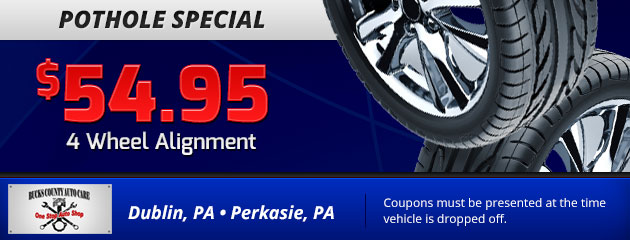 $54.95 4 Wheel Alignment