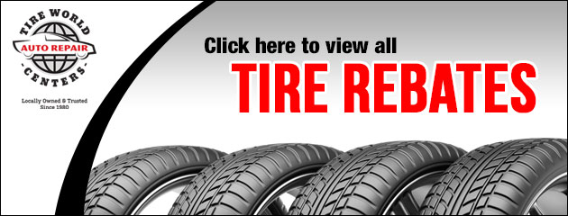 View Our Tire Rebates!