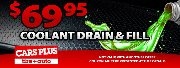 $69.95 Coolant Drain and Fill