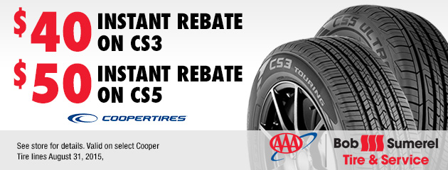 Cooper Tire Rebates Coupon