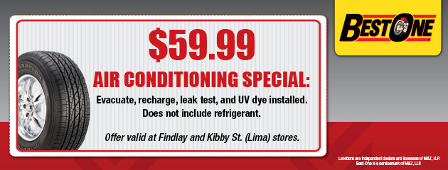 $59.99 Air Conditioning Special