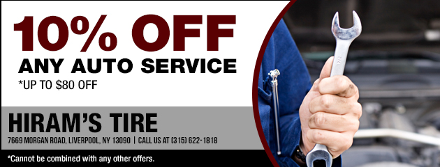 10% Off Any Auto Service Coupon