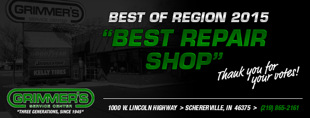 Best Auto Repair Shop 2015