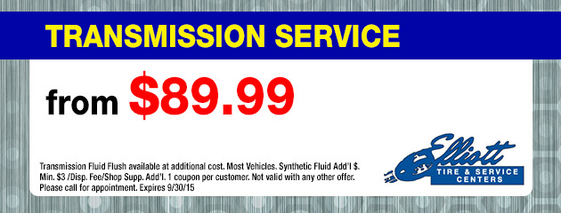 Transmission Service from $49.99 Coupon