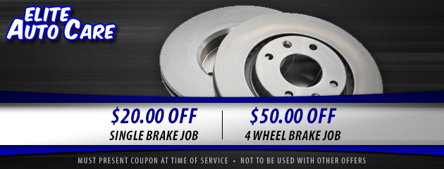 Brake Job Coupon