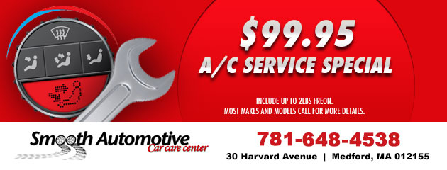 $99.95 A/C Service Special