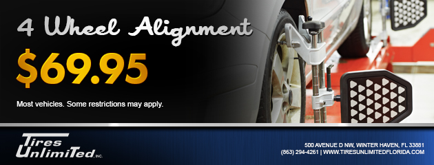 $69.95 4 Wheel Alignment Coupon