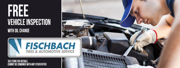 Free Vehicle Inspection with Oil Change Coupon