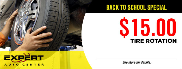 $15.00 Tire Rotation Coupon