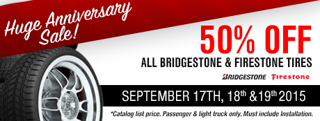 Huge Anniversary Sale!