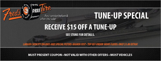 $15 Off Tune Up Special