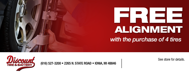 Free Alignmet with Tire Purchase