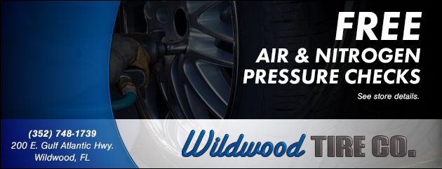 Free Air and Nitrogen Pressure Check Coupon