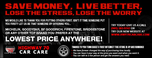 Top Brand Tires at the Lowest Price Anywhere!