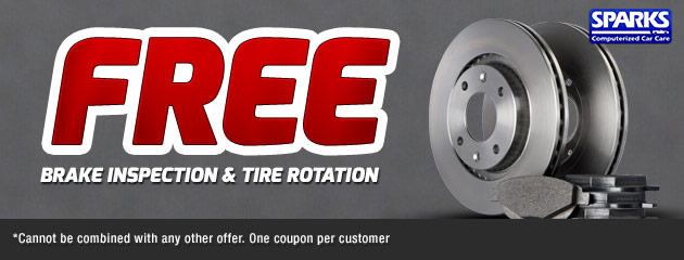 Free Brake Inspection & Tire Rotation