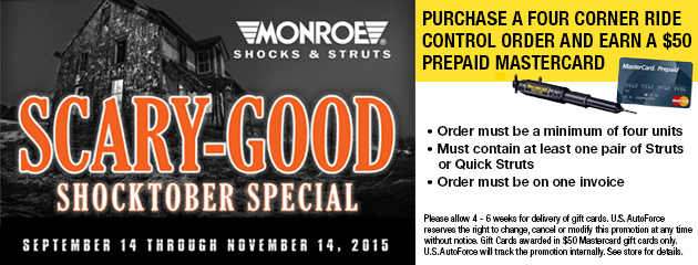 Monroe Scary Good Shocktober Special