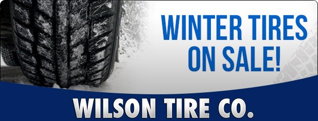 Winter Tires on Sale!