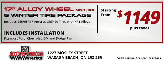 Wheel Package Special - $1149