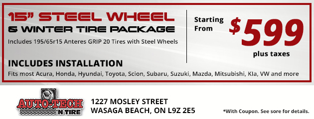 Wheel Package Special - $599