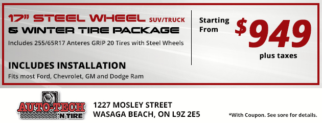 Wheel Package Special - $949