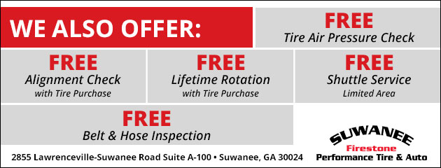 We Also Offer these FREE Services
