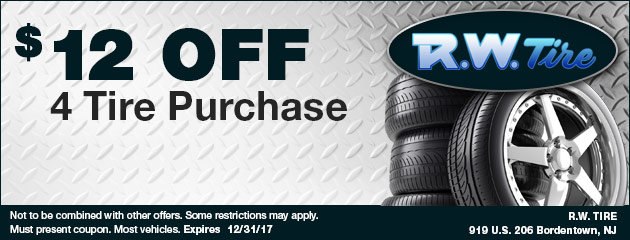$12 Off Tire Purchase