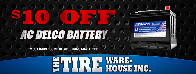 $10 Off AC Delco Batteries