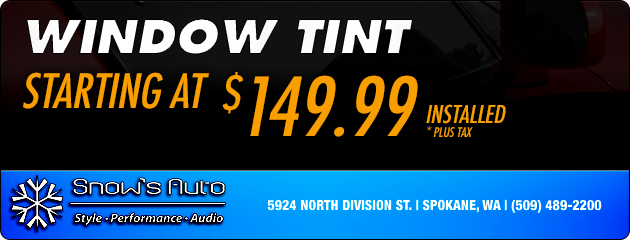 Window Tint - Starting at $149